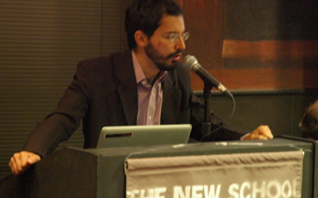 Mauricio Santoro Rocha, Tercer Becario Presidente Néstor Kirchner 2011-2012, completó exitosamente un enriquecedor intercambio académico en The New School