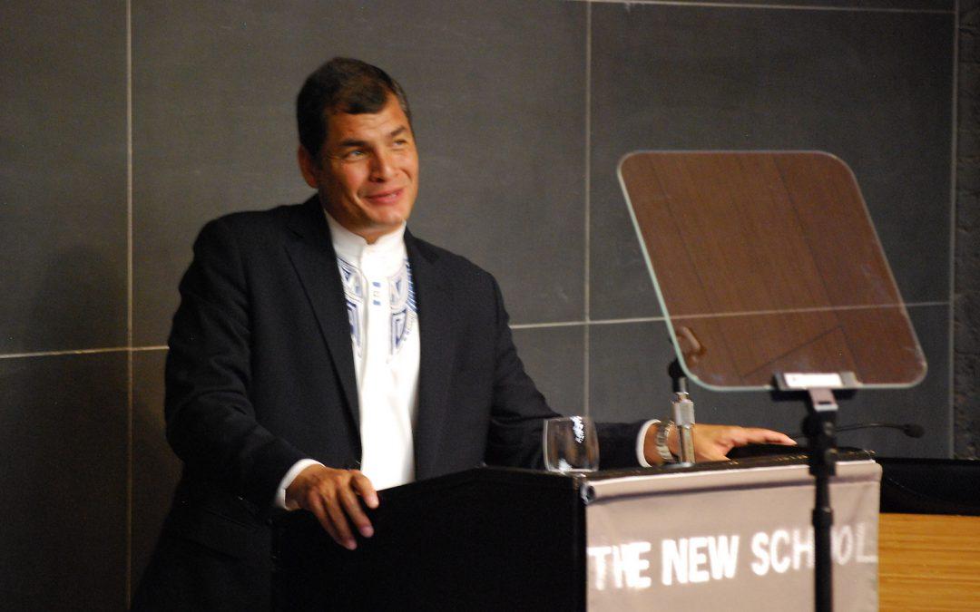 Lecture by Rafael Correa, President of Ecuador