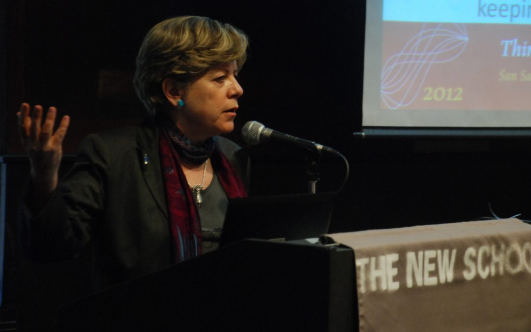 Public Lecture by Alicia Bárcena at The New School: Structural Change for Equality