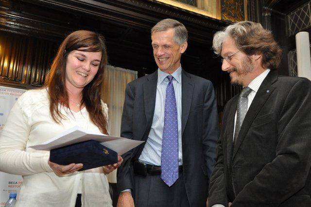 President Néstor Kirchner 2012-2013 Fellow is in New York