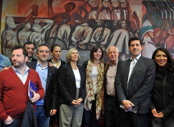 Conversación con jóvenes dirigentes de movimientos sociales y políticos argentinos.