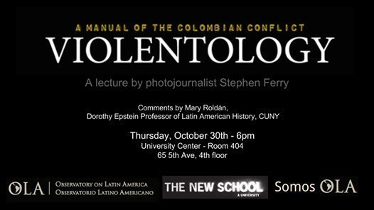 Violentology: A lecture on the Colombian armed conflict