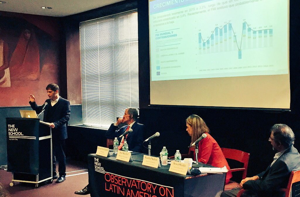 Changing Conditions in the Global Economy: A Latin American Perspective