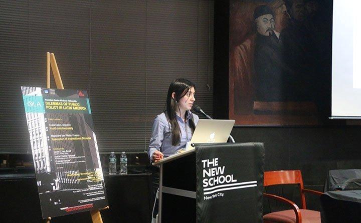 Analía Calero, Becaria Presidente Néstor Kirchner 2015-2016, completó exitosamente su estadía de dos semanas en Nueva York
