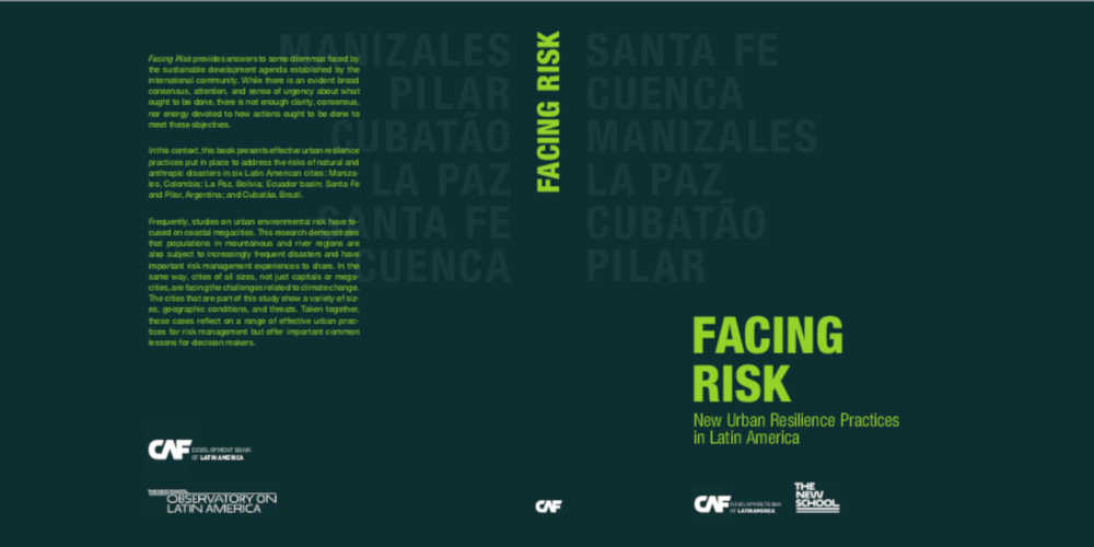 New Book | Facing Risk: New Urban Resilience Practices in Latin America