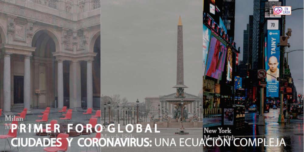 Online International Forum on Cities and the Coronavirus