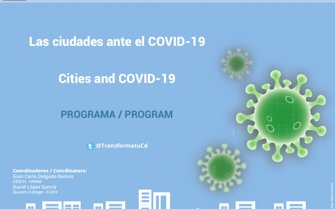 Program · Cities and COVID-19: New Directions for Urban Research and Public Policies