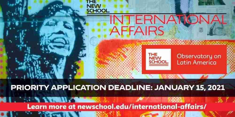 América Latina y Asuntos Internacionales en The New School